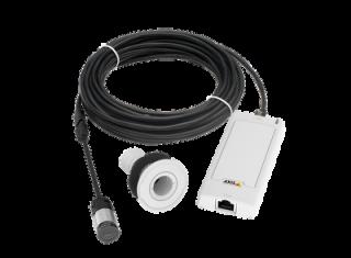 Установка скрытой камеры видеонаблюдения AXIS P1244 (0896-001)