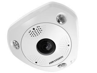 Установка камеры видеонаблюдения IP DS-2CD63C2F-IVS