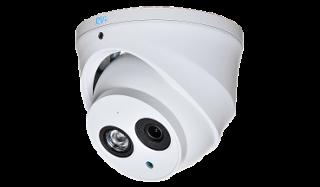 Установка камеры видеонаблюдения RVI-IPC34VD (2.8 мм)