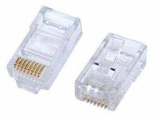 Разъем Ethernet REXANT Джек RJ-45 8P-8C CAT5e