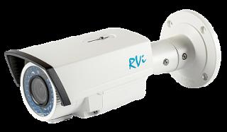 Установка камеры видеонаблюдения TVI RVi-HDC421-T (2.8-12 мм)