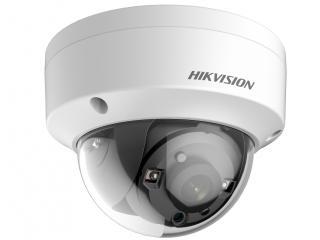 Установка камеры видеонаблюдения DS-2CE56F7T-VPIT (2.8 mm)