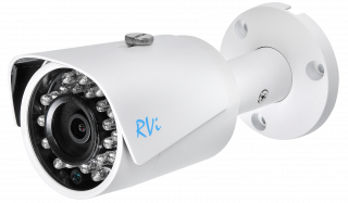 Установка камеры видеонаблюдения RVI-IPC44 (6мм)