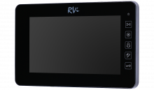 Установка видеодомофона RVi-VD10-21M(black)