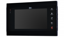 Установка видеодомофона RVi-VD7-12M(black)