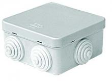 Коробка распределительная 100x100x50 мм цвет серый