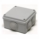Коробка распределительная 100х100х55 мм цвет серый