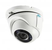 Установка камеры видеонаблюдения TVI RVi-HDC321VB-T (2.8 мм)