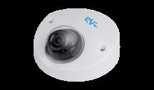 Установка камеры видеонаблюдения RVI-IPC34M-IR V.2 (2.8 мм)