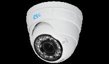 Установка камеры видеонаблюдения RVi-IPC34VB (3.0-12мм)